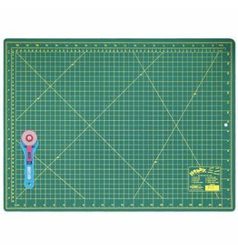 "Hakidd HOBBY Cutting Mat/45mm Rotary Cutter Starter Kit - 18"" x 24"" (45.7 x 61cm)"