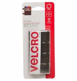 """Hakidd VELCRO Sticky Back Squares Black - 22mm (7⁄8"""") - 32 pcs."""