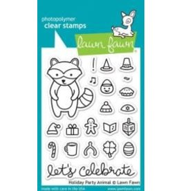 Treasuremart Photopolymer Clear Stamp Set, Holiday Party Animal