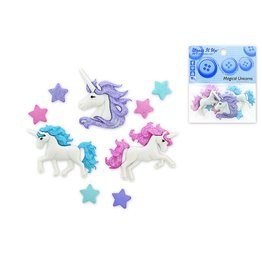 Dress Up Buttons Dress It Up Buttons Insects DUB  9357 Magical Unicorns