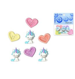 Dress Up Buttons Dress It Up Buttons Insects DUB 10520 Unicorn Love