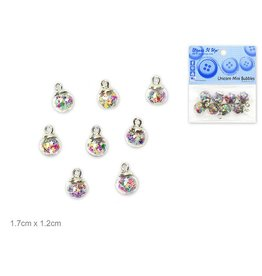 Dress Up Buttons Dress It Up Buttons Insects DUB 10524 Unicorn Mini Bubbles