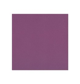 """Treasuremart Bazzill Cardstock: 12""""x12"""" Dotted Swiss Barcoded 3083 Plum Pudding"""