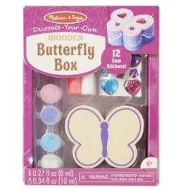 Decorate-Your-Own Wooden Chest Butterfly