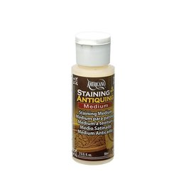 Crafters Acrylic Paint Decoart Painting Mediums: 2oz Americana Mediums DS51 Staining/Antiquing Medium