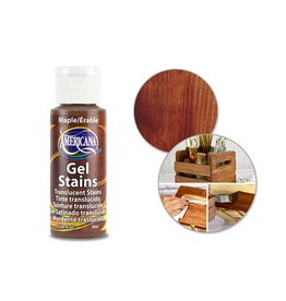 Crafters Acrylic Paint Decoart Paint: 2oz Americana Gel Stains DS28/29/30 DS28 Maple