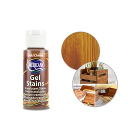 Crafters Acrylic Paint Decoart Paint: 2oz Americana Gel Stains DS28/29/30 DS30 Oak
