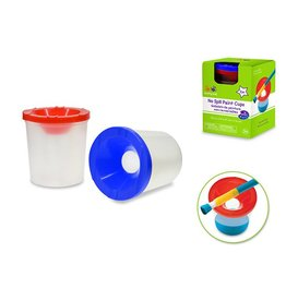 Krafty Kids Krafty Kids: Lil' Artist Brush Washer Cups/Paint Pots x2