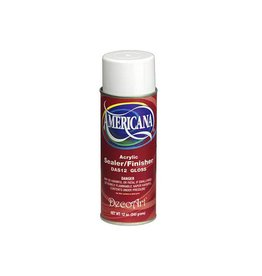 Decoart Spray: 12oz Americana Sealer Das12g/Das13m DAS12 Gloss