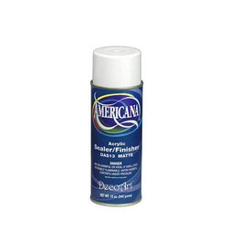 Decoart Spray: 12oz Americana Sealer Das12g/Das13m DAS13 Matte