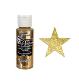 Glamour Dust Paint: 2oz Ultrafine Glitter Paint