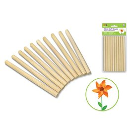 Wood Craft Dowels 0.4in x 6in
