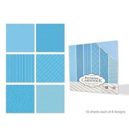"Scrapbook Cardstock: 12""x12"" Patterned Textured 60Sht"