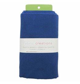 "Hakidd Flannel Solids Fabric - Denim Blue - 1.8 x 1m (2yds x 42"")"