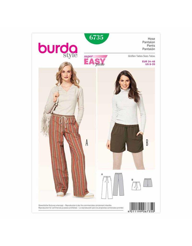 BURDA - 6735 Ladies Pants