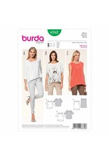 BURDA - 6762 Ladies Top