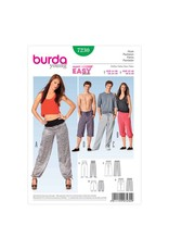 BURDA - 7230 Unisex Pants