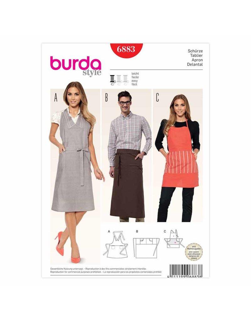 BURDA - 6883 Accessory Apron