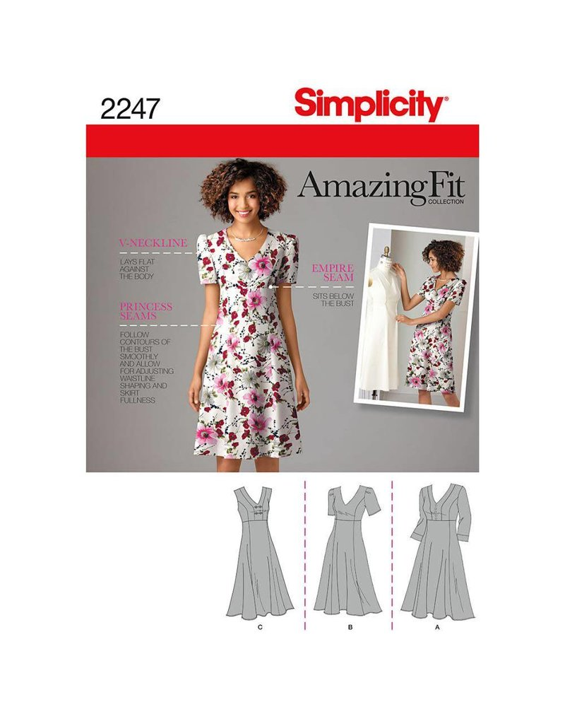 Simplicity Misses & Womens Amazing Fit Dress
