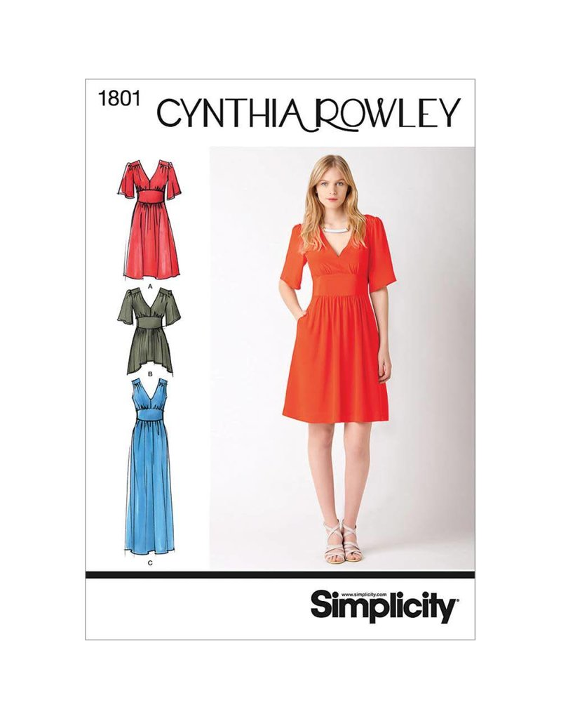 Simplicity Cynthia Rowley Misses Dress Or Tunic