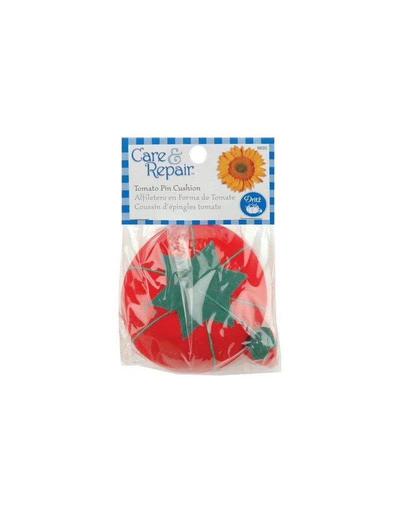 Dritz Care & Repair Tomato Pincushion W/Emery Sharpener