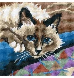 Dimensions Needlepoint - Cuddly Cat