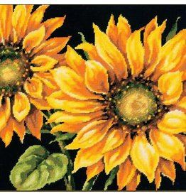 Dimensions Needlepoint - Dramatic Sunflower