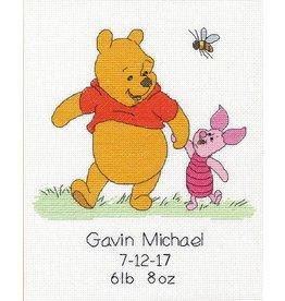 Dimensions DIsney Cross Stitch Kit - Winnie the Pooh Birth Record