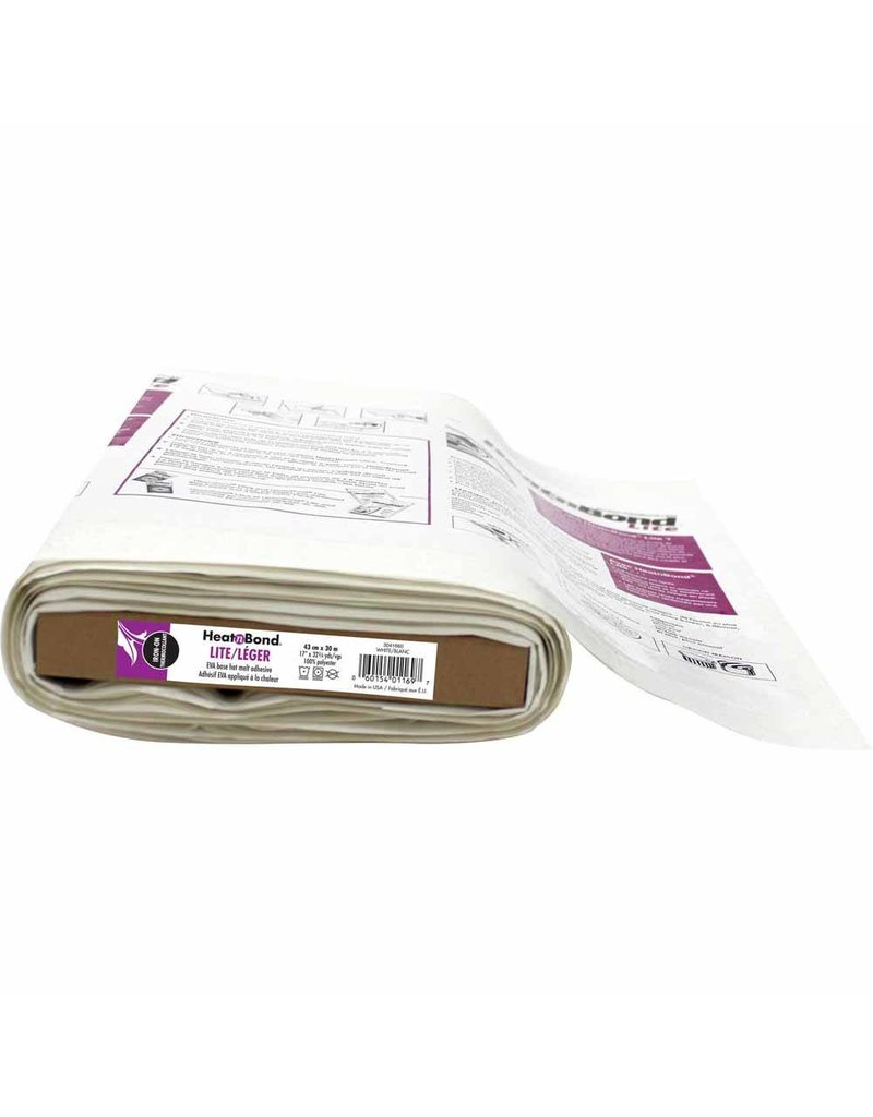 Heat n Bond Fusible Interfacing - Sold by the inch -