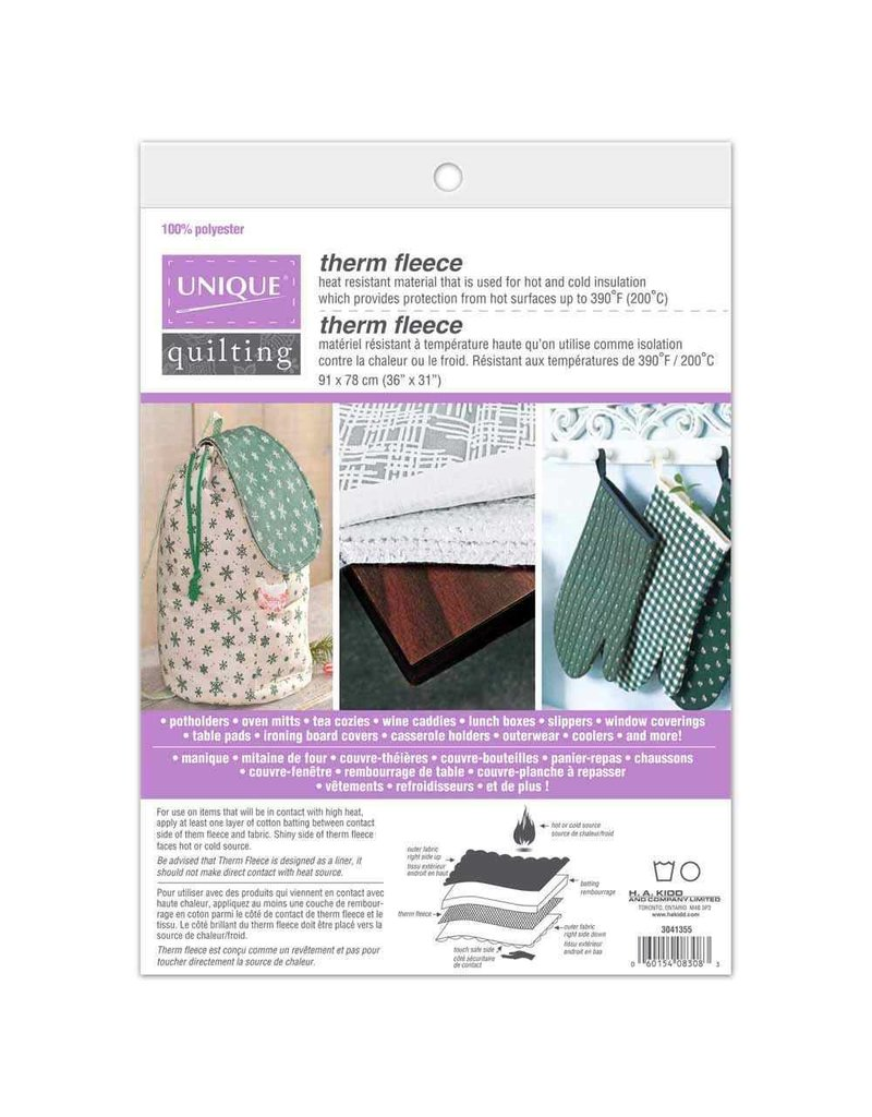 "Therm Fleece heat resistant fleece 36""x31"" (91cmx78cm)"