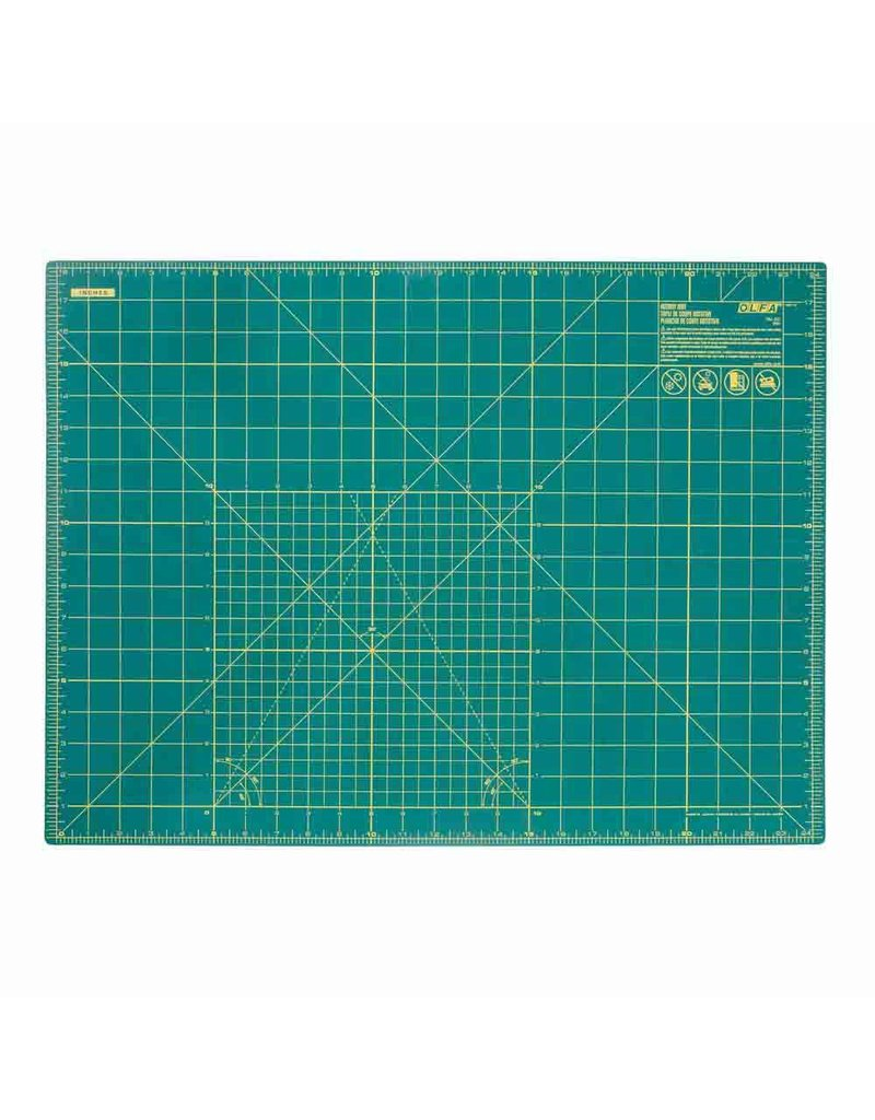 "OLFA RM-SG - 18"" x 24"" Double Sided Rotary Mat"