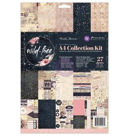 Prima A4 Collection Kit Wild & Free