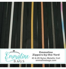 #3 & #5 Emmaline Zippers-by-the-Yard (No Pulls) 3 Yards