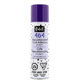 ODIF 404 Spray and Fix Permanent Repositionable Adhesive for Craft Material - 162g