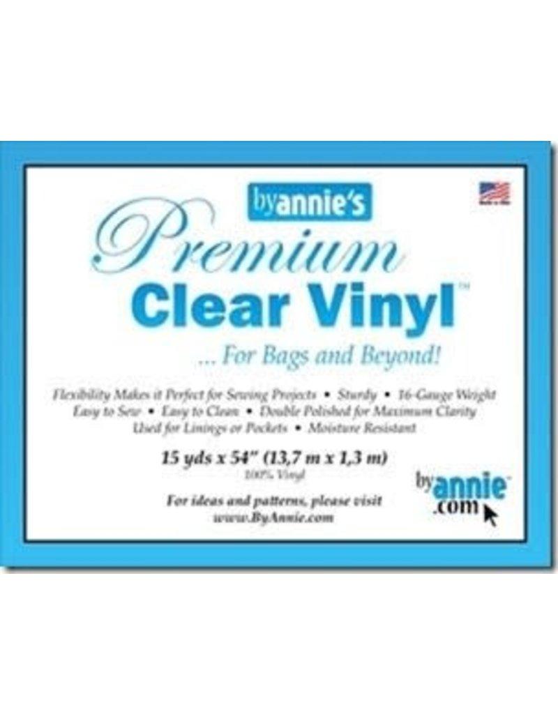 "ByAnnie's Premium Clear Vinyl,  54"" wide 16 gauge"