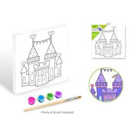 "Krafty Kids: 7.8""x7.8"" Paint-It-Yourself Paper Canvas"