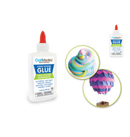 Craft Medley: 175g (5oz) Washable All-Purpose Clear School Glue