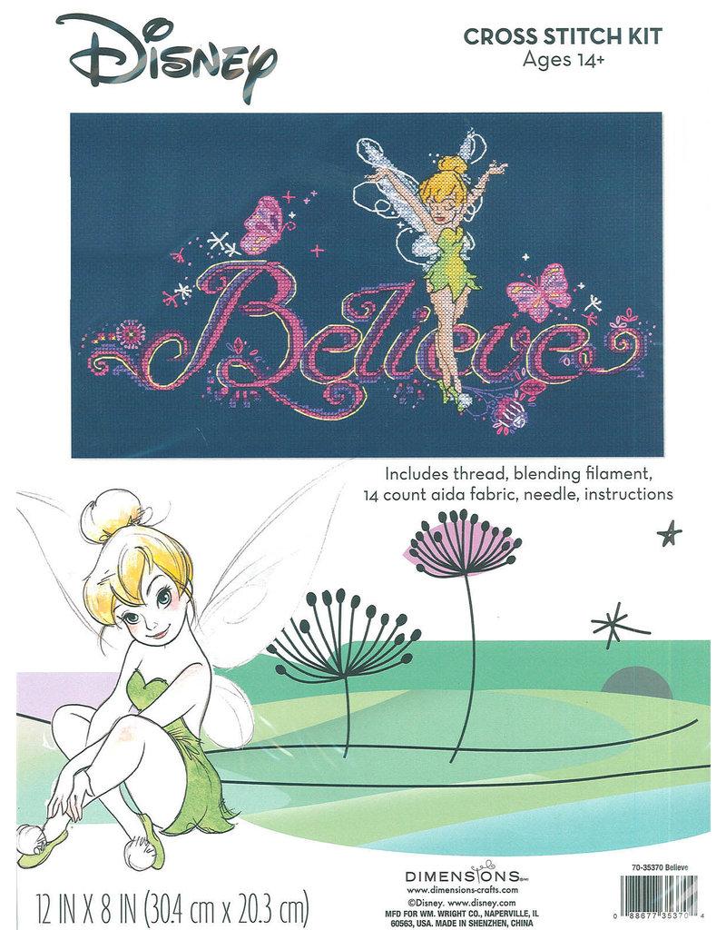 Dimensions Disney Cross Stitch Kit - Believe