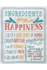 Dimensions Cross Stitch Kit - Ingredients for Happiness