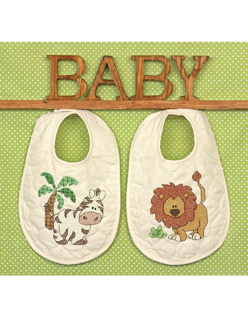Dimensions Cross Stitch Kit - Kimba Bibs
