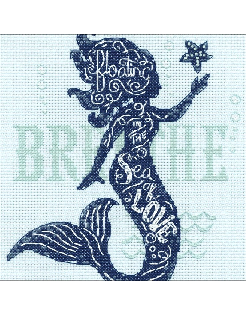 Dimensions Cross Stitch Kit - Mermaid Song