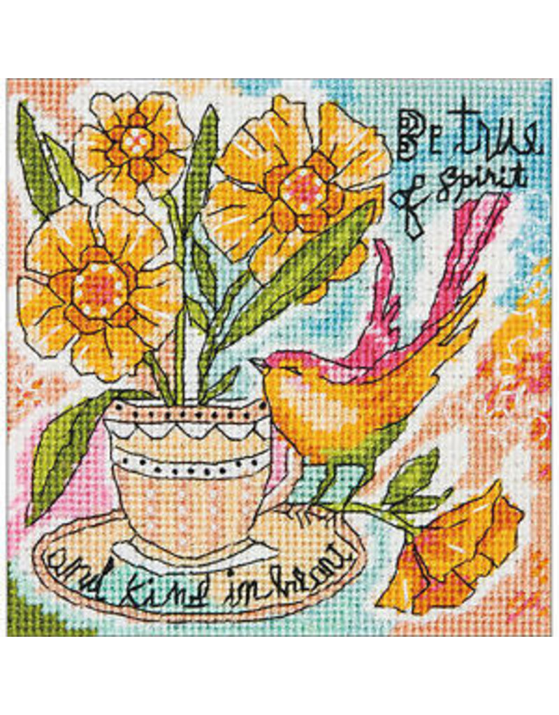 Dimensions Needlepoint Kit - Be True of Spirit