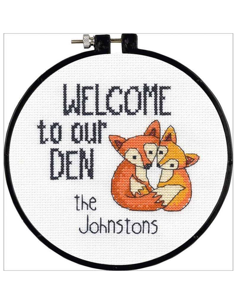 Dimensions Cross Stitch Kit - Our Den