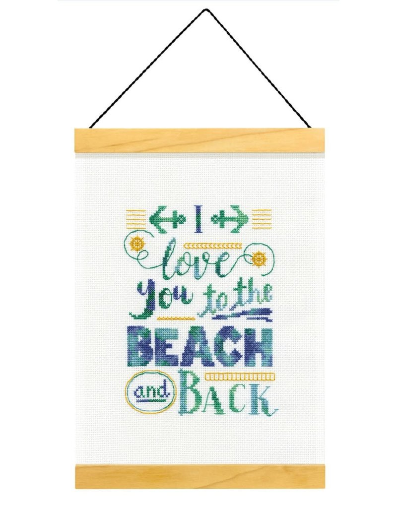 Dimensions Cross Stitch Kit - To the Beach and Back