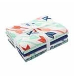 FABRIC CREATIONS Fabric Bundle (5pcs) - 45 x 53cm (18″ x 21″)