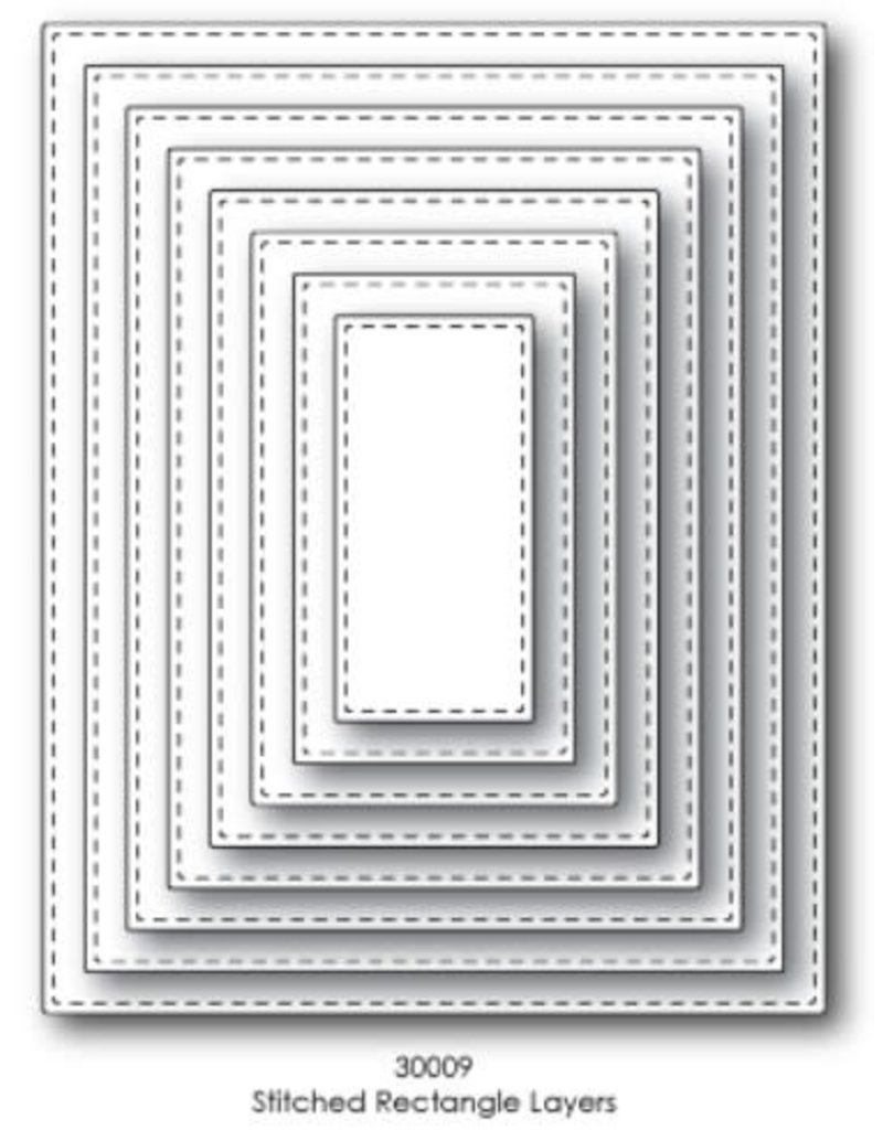 Die Set, Stitched Rectangle Layers