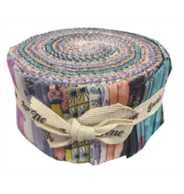Fab 40 Roll jelly rolls 40 x 2 1/2 Cotton strips