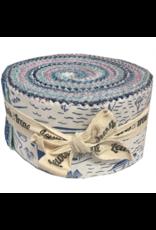Fab 40 Roll jelly rolls 40 x 2 1/2 Cotton strips