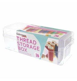 GUTERMANN Thread Storage Box - Holds 26 Spools