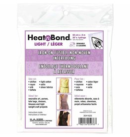"HEATNBOND Non-Woven Light Weight Fusible Interfacing - 50cm x 0.9m / 20"" x 1 yd"